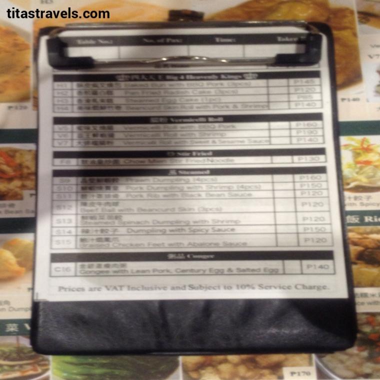 Z-4-order checklist