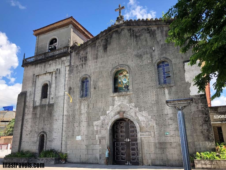 1-Panguil church - facade