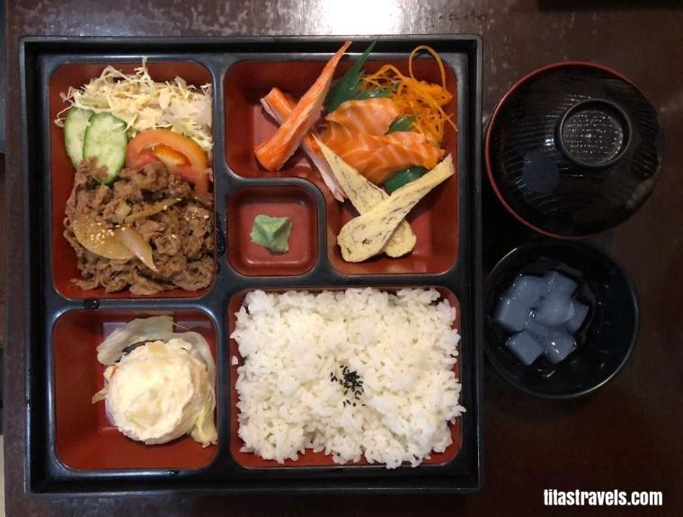 1-Food-Beef Yakiniku Bento