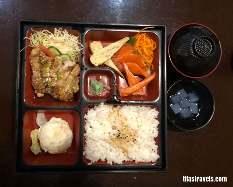 1-Food-Chicken Teriyaki Bento-ok