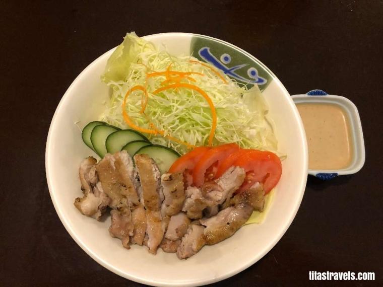 1-Food-Grilled Chicken Salad