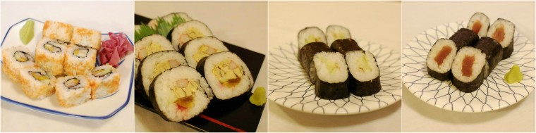 1-Food-Maki collage