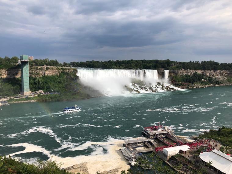 American Falls-Bridal Falls